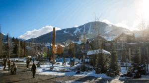Winter Whistler Village
