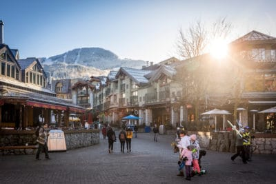 Winter Whistler Village